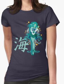 Soldier of the Sea & Embrace Womens Fitted T-Shirt