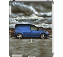 Moody VW Caddy in Belfast:) iPad Case/Skin