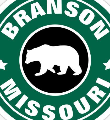 BRANSON MISSOURI BEAR ROUND ART Sticker