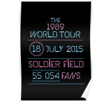 18th July - Soldier Field Poster