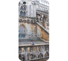 duomo terraces, thousands of sculptures iPhone Case/Skin