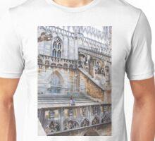 duomo terraces, thousands of sculptures Unisex T-Shirt