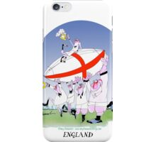 England Rugby - 3 cheers england!, tony fernandes iPhone Case/Skin