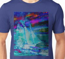 Ghost Ship Abstract Unisex T-Shirt