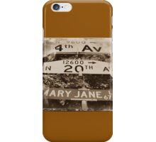 420 Mary Jane Lane iPhone Case/Skin