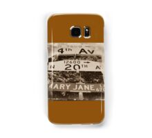 420 Mary Jane Lane Samsung Galaxy Case/Skin