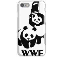 WWF Parody Panda iPhone Case/Skin