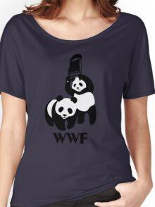 WWF Parody Panda Women's Relaxed Fit T-Shirt