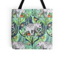Little Elephant on a Jungle Adventure – faded vintage version Tote Bag