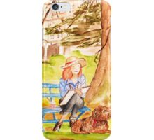Painting in the Park iPhone Case/Skin