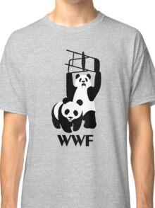 WWF Parody Panda - Tshirt Classic T-Shirt