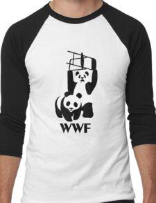 WWF Parody Panda - Tshirt Men's Baseball ¾ T-Shirt