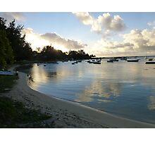 Beach in Mauritius Photographic Print