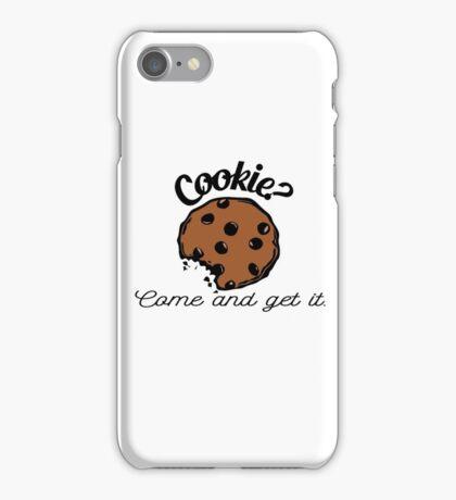 Cookie? iPhone Case/Skin