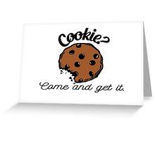 Cookie? Greeting Card
