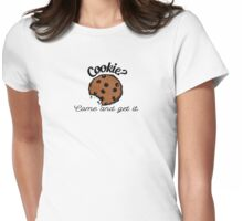 Cookie? Womens Fitted T-Shirt