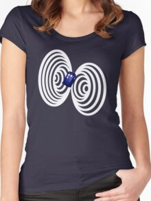 Travelling the Vortex Women's Fitted Scoop T-Shirt