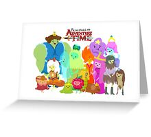 Princesses of Adventure Time! Greeting Card