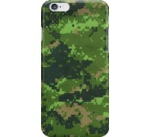 Military camouflage texture iPhone Case/Skin