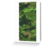 Military camouflage texture Greeting Card