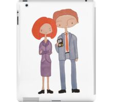 scully & mulder iPad Case/Skin