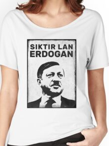 SIKTIR LAN ERDOGAN Women's Relaxed Fit T-Shirt