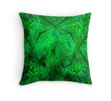 Abstract 1C Throw Pillow
