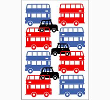 London Buses and Autos Unisex T-Shirt