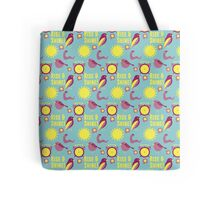 Early Bird Pattern by Holly Shropshire Tote Bag