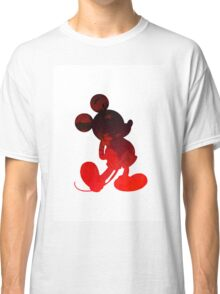 Mouse Inspired Silhouette Classic T-Shirt