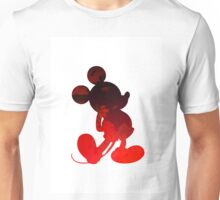 Mouse Inspired Silhouette Unisex T-Shirt