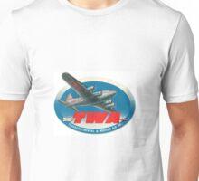 Vintage TWA Travel Tag Unisex T-Shirt