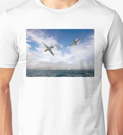 Bf109 down in the Channel  Unisex T-Shirt