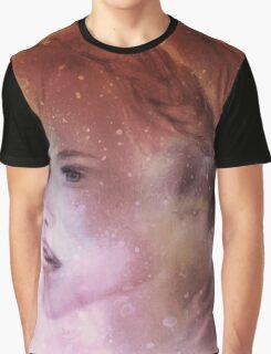 Galaxy Girl 5 Graphic T-Shirt
