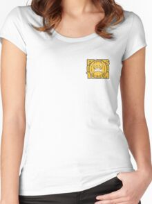 FOCUS BJJ small logo Women's Fitted Scoop T-Shirt