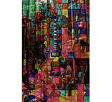 Dissection of a Les Paul Photographic Print