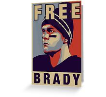 Free Brady - Tshirt Greeting Card