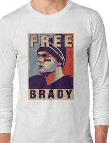 Free Brady - Tshirt Long Sleeve T-Shirt