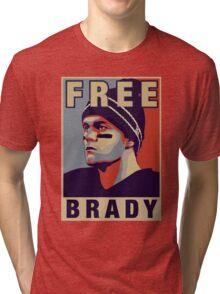Free Brady - Tshirt Tri-blend T-Shirt
