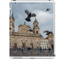 Bogota Colombia The neo-classical Cathedral on Plaza de Bolivar. iPad Case/Skin