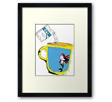 Marmaid and Oki Framed Print