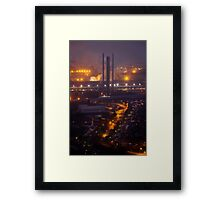 Steel Making at Port Talbot Framed Print
