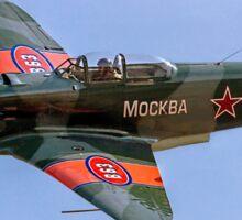 Yakovlev Yak-9UM yellow 06 HB-RYA Sticker