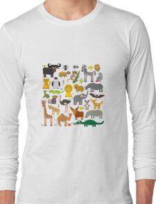 Animals Long Sleeve T-Shirt