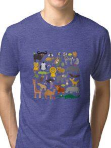 Animals Tri-blend T-Shirt