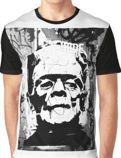 FRANKENSTEIN GRAFFITI Graphic T-Shirt