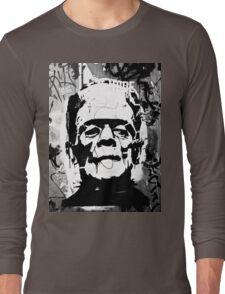 FRANKENSTEIN GRAFFITI Long Sleeve T-Shirt