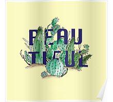 Cactus by Kim Hoang Poster