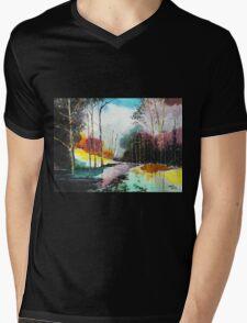 Deep 5 Mens V-Neck T-Shirt
