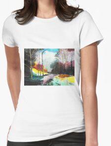 Deep 5 Womens Fitted T-Shirt